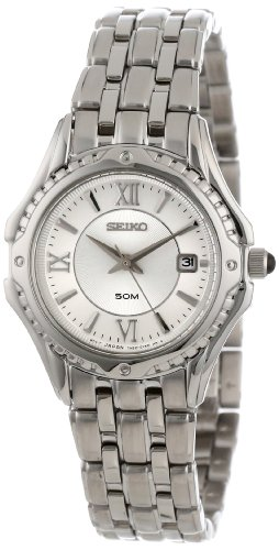 Seiko Women's SXDC35 Le Grand Sport White Dial Watch
