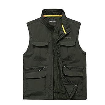 Cccken men 39 s outdoor lightweight quick dry for Fishing vest amazon