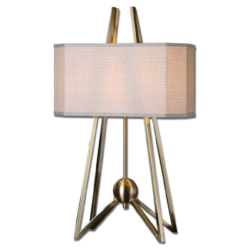 Uttermost 26595-1 Andar Coffee Bronze Table Lamp