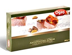 Ogas Pistachio Turkish Delight 250g