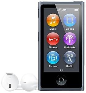 Apple iPod nano 16 Go Noir (7ème génération) Nouveau
