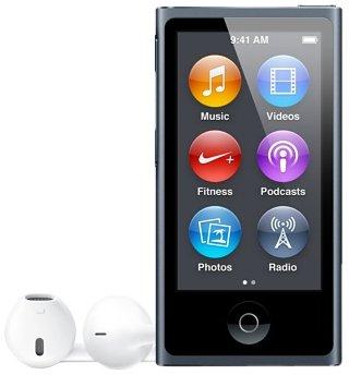 Apple iPod nano 16 Go Gris (7ème génération) Nouveau