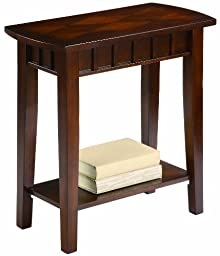 Crown Mark Dentil Chair Side Table by Crown Mark, Inc.