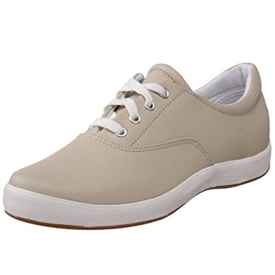 Grasshoppers Women's Janey Lace-Up Sneaker,Stone Leather,5 M US