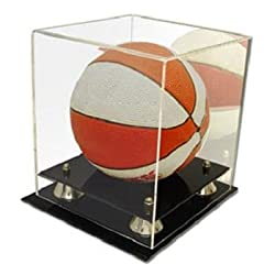 BCW Deluxe Acrylic Mini Basketball Display with Mirror