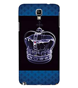 ColourCraft King Crown Design Back Case Cover for SAMSUNG GALAXY NOTE 3 NEO DUOS N7502