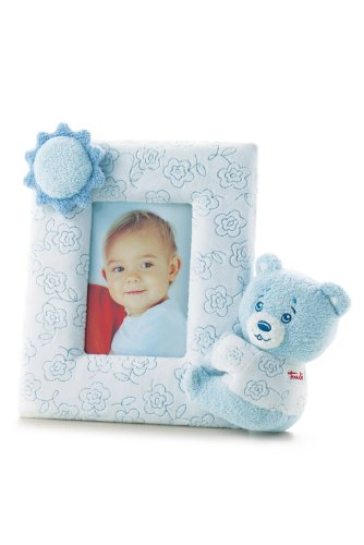 Trudi Picture Frame, Light Blue Teddy Bear, Newborn