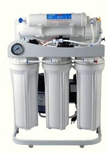 Light Commercial Reverse Osmosis Water Filter System 300 GPD Pump With Dual DI (Ro Di System Booster Pump compare prices)