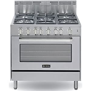 Amazon.com: Verona 36 All Gas Range SS: Appliances