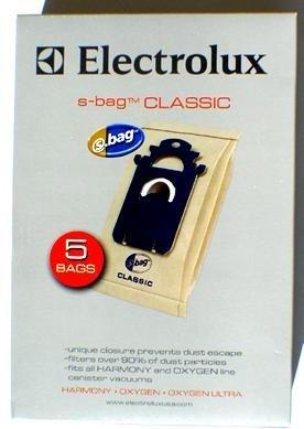 Geniune Electrolux S-Bag Classic Vacuum Bag, Case Pack Of 20 Bags
