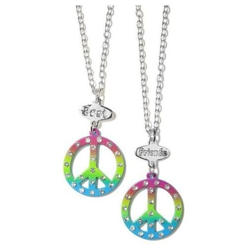 BFF Peace Necklaces