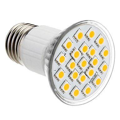 E27 3.5W 21X5050Smd 140-150Lm 2800-3200K Warm White Light Led Spot Bulb (110V)