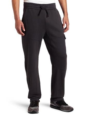 ck one Men's Cargo Fleece Pant, Phantom, X-Large