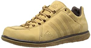 adidas  Zappan DLX, Chaussures de randonnée homme - Beige - Beige (Dark Sand/Leather/Mustang Brown), 43 1/3 EU