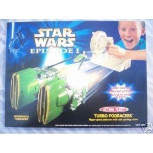 Star Wars Episode I Action Fleet Sparking Turbo Podracers, Gasgano's Podracer, Star Wars Episode One