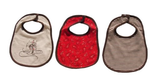 Dressed to Drool Boy 3pk Bib Set