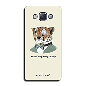Mozine It Aint Easy Being Cheesy printed mobile back cover for Samsung a7