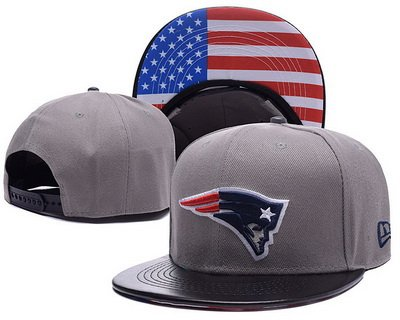 NFL Game Time Closer Stretch Fit Snapback Hats New England Patriots