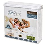 SafeRest Premium Hypoallergenic Waterproof Mattress Protector - Queen Size