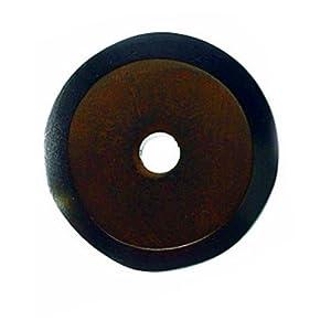 Top Knobs M1468  Aspen Round Back plate Bronze