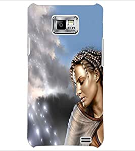 PRINTSWAG BEAUTIFUL GIRL Designer Back Cover Case for SAMSUNG GALAXY S2