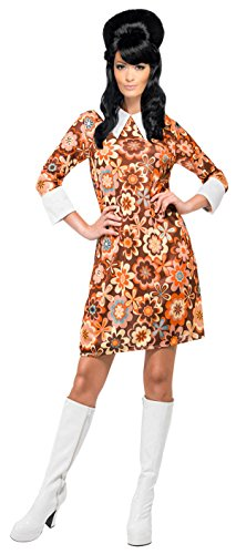 Smiffy's Women's Carnaby Cutie Costume Shift Dress