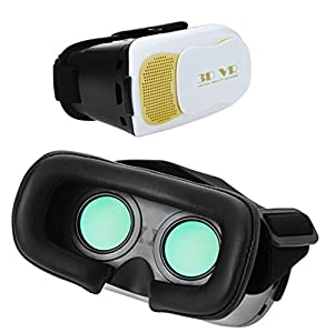 VR Virtual Reality 3D Glasses Headset Box for Apple iphone 6 6s plus samsung Galaxy S6/S7/NOTE4/NOTE5/LG G4/Nexus 6/6P /Green Coating Lens