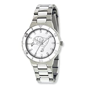 Ladies NFL Tampa Bay Buccaneers Pearl Watch by Jewelry Adviser Nfl Watches