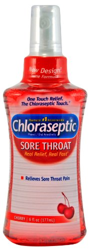 Chloraseptic Sore Throat Spray, Cherry, 6-Ounce (177 ml) (Pack - Import It  All