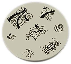 Konad Stamping Nail Art Image Plate M51