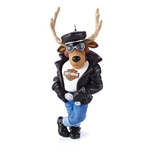 these ornaments make good harley motorcycle christmas gifts for guys reindeer rider harley davidson 2013 hallmark ornament