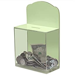 My Charity Boxes ~ High Quality ~ GLOW IN THE DARK ~ Donation Box ~ Ballot Box ~ Suggestion Box ~ Tip Container ~ Great Fundraising Tool