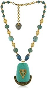 "TARINA TARANTINO ""Topkapi"" Treasury Caravan Necklace"