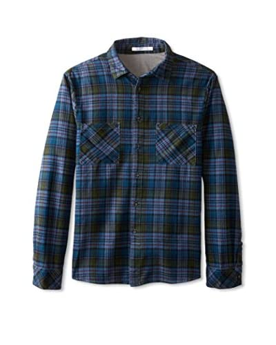 Alternative Men's Flannel Long Sleeve Button Up