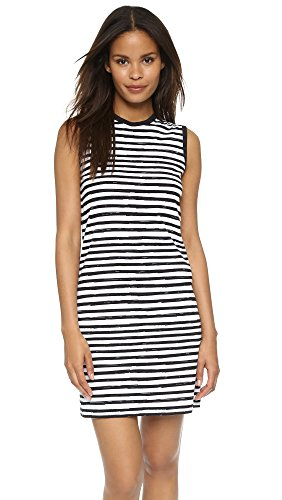 Marc by Marc Jacobs Womens Sketch Stripe Sleeveless Dress