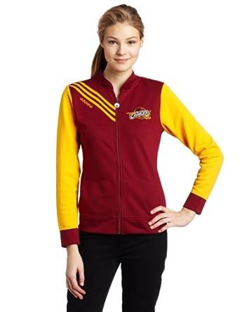 NBA Cleveland Cavaliers Originals Court Series Track Jacket Ladies by adidas