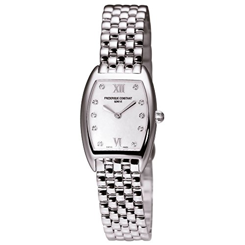 Frederique Constant Slimline Women's Diamonds 30.5mm Watch FC-200MPWD1T26B