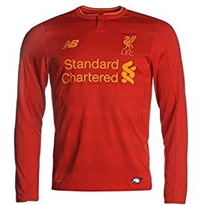 2016-2017 Liverpool Home Long Sleeve Shirt from New Balance
