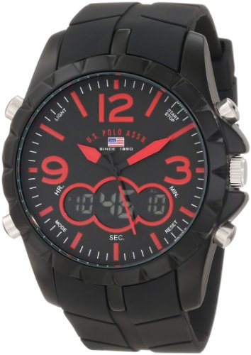 U.S. Polo Assn. Sport Men's US9236 Black Analog