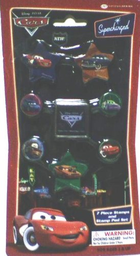 Disney Pixar Cars 7 Piece Stamps and Stamp Pad Set - Buy Disney Pixar Cars 7 Piece Stamps and Stamp Pad Set - Purchase Disney Pixar Cars 7 Piece Stamps and Stamp Pad Set (National Design, Toys & Games,Categories,Arts & Crafts,Stamps & Stickers)