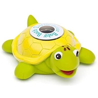 Ozeri TM01 Baby Bath Floating Turtle Toy and Tub Thermometer WLM by Home Comforts