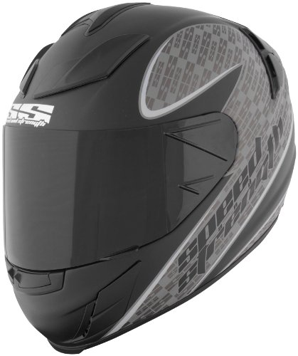 Speed & Strength SS2000 Twist of Fate Helmet , Size: Sm, Primary Color: Gray, Distinct Name: Twist of Fate Matte Black/Gray, Helmet Type: Full-face Helmets, Helmet Category: Street, Gender: Mens/Unisex 87-5511