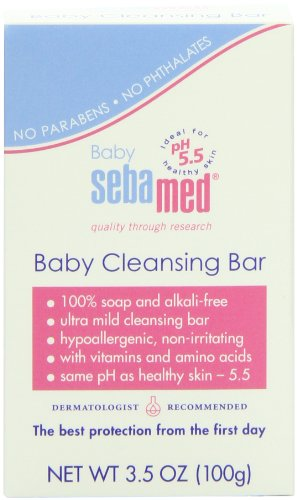 Sebamed Baby Cleansing Bar, 3.5-Ounce Boxes (Pack of 4) - 1
