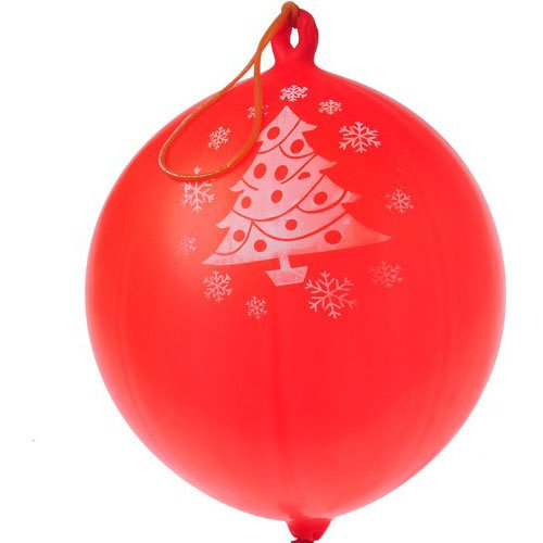Christmas Tree Rubber Punch Balls - 1