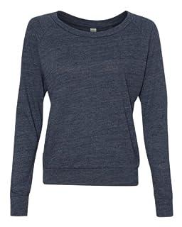 Alternative Ladies Junior Fit Eco Jersey Slouchy T-Shirt 1990E1 Eco True Navy S