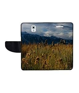 KolorEdge Printed Flip Cover For Samsung Galaxy Note 3 Multicolor - (55KeMlogo09102SamNote3)