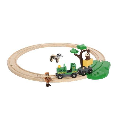Brio Safari Railway Set Train Set - 1