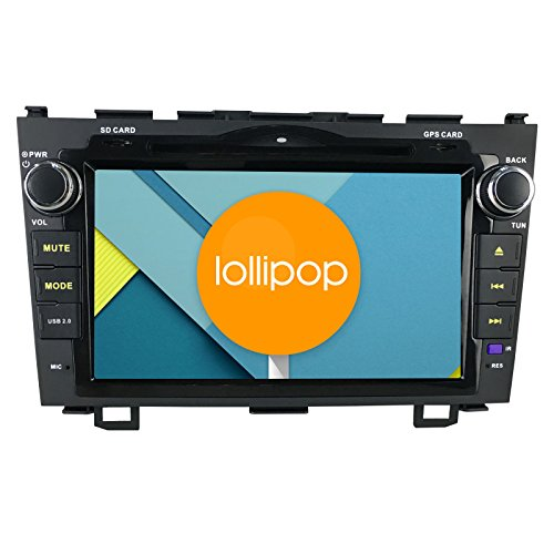 JOYING 8 Inch 1024600 Quad Core Android 5.1 Car Stereo for Honda CRV CR-V 2007-2012 Capacitive HD Touch Screen in Dash Radio Car DVD Player GPS Head Unit Autoradio Support Bluetooth/1080p/mirror Link (Honda Crv 2012 Stereo compare prices)