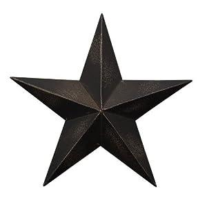 Amazon.com: CWI Gifts Barn Star Wall Decor, 18-Inch ...