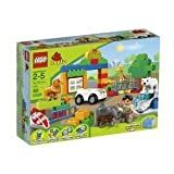 Toy / Game Wonderful Lego Duplo My First Zoo 6136 With Colorful Figures And Animals For Little Hands To Enjoy